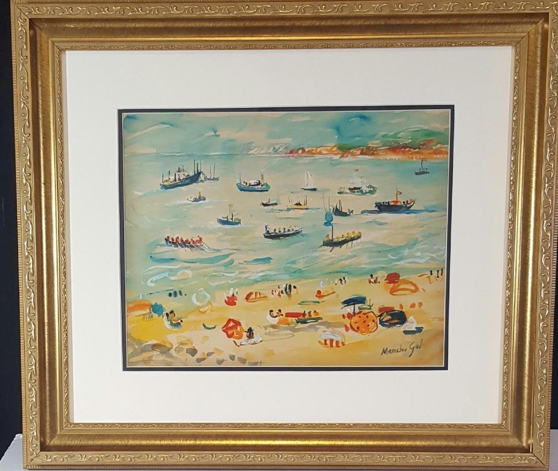 Menchu Gal (1919-2008)Attrib (coa) Water color on paper