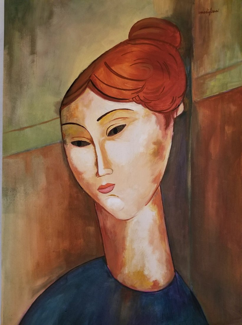 Amadeo Modigliani (1884-1920)-Water color on paperATTRI