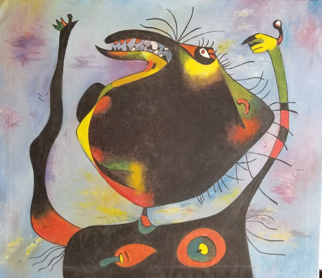 Joan Miro-(1893-1983)- Was spanish Painter , sculptor ,
