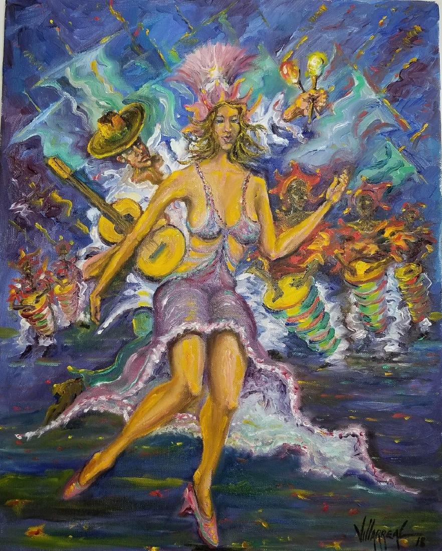 Rumbera Cubana , Jose Villarreal, contemporary Cuban