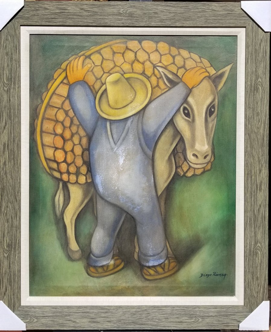 Diego Rivera(1886-1957) -this items has some visible  d
