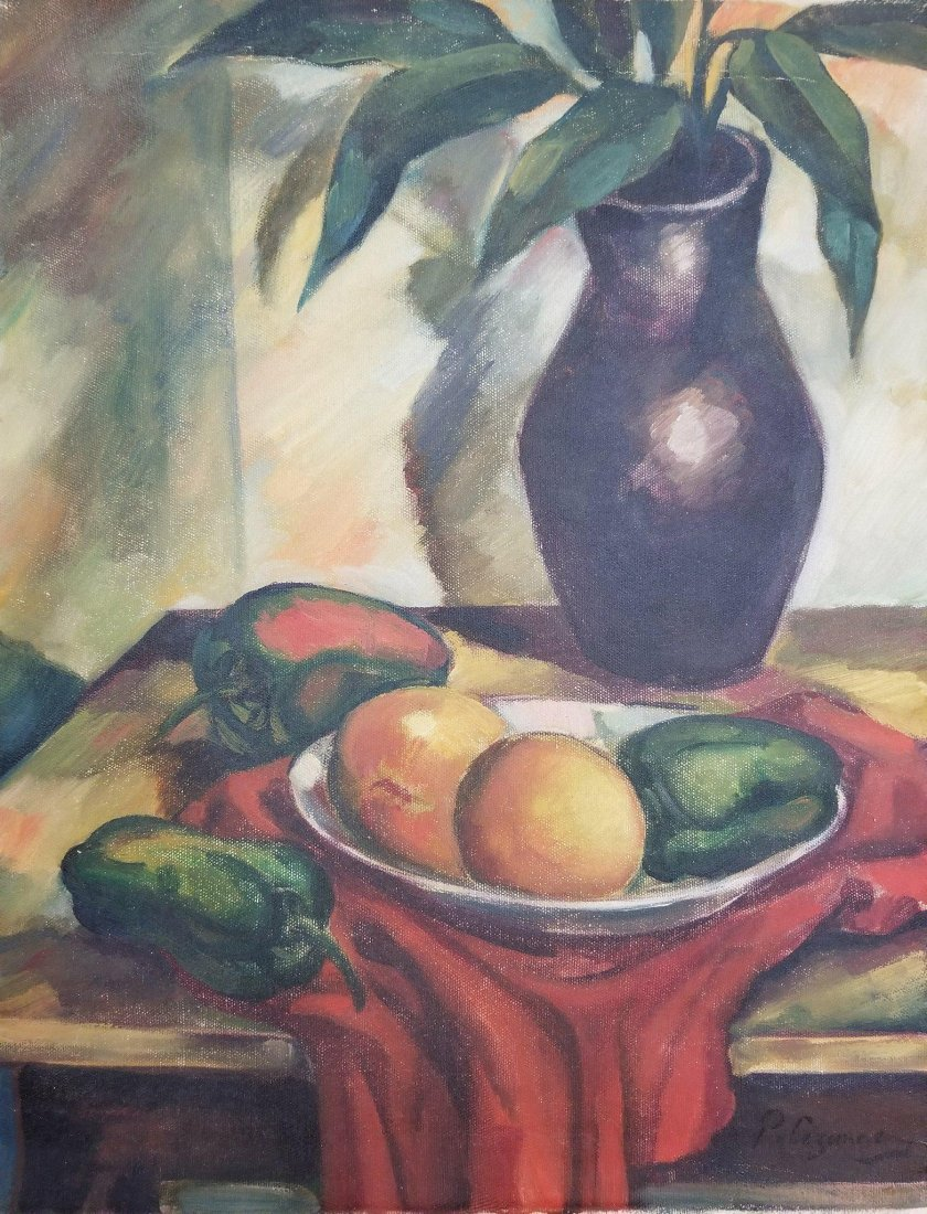 Poul Cezanne (1839-1906) was a postimpresionist painter