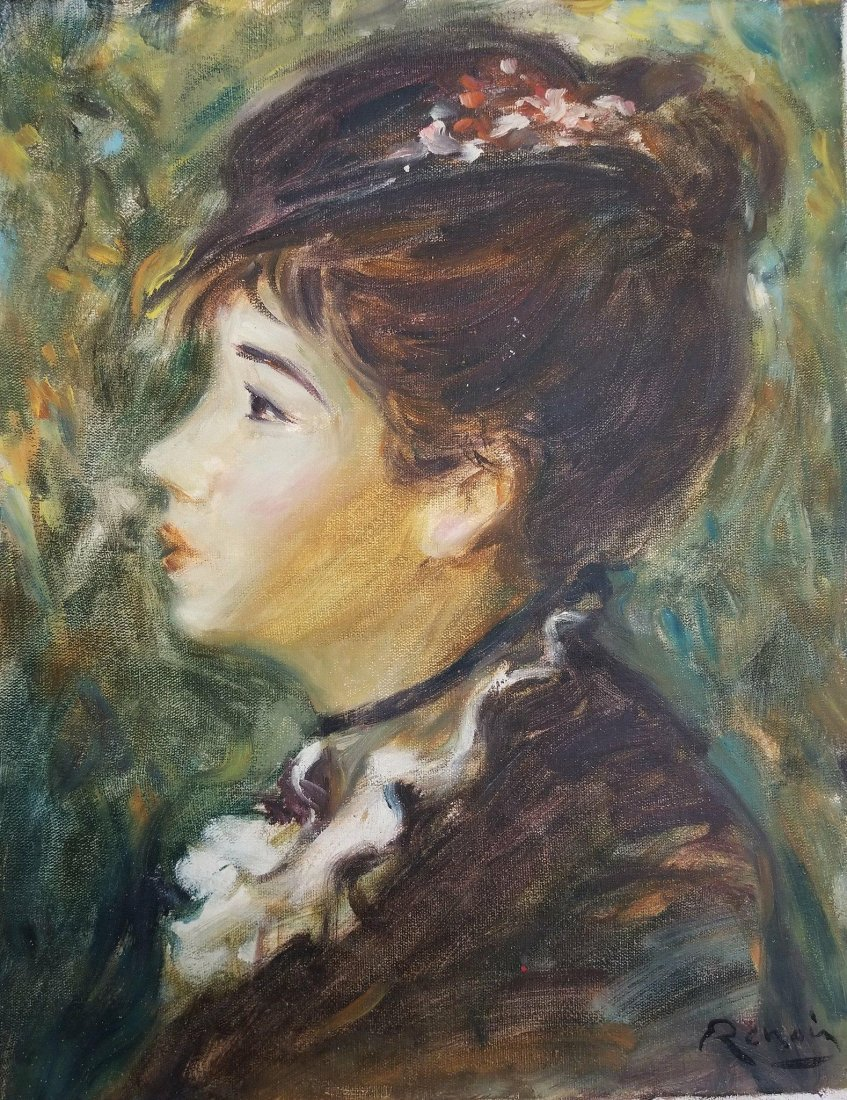 Pierre Auguste Renoir (1841-1919)-  was a French artist