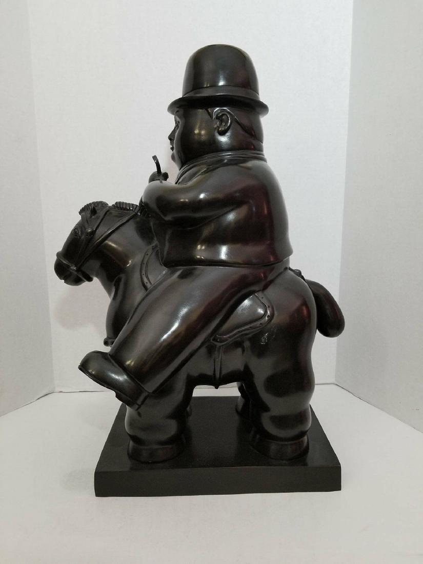 """Fernando Botero- Bronze-"""" Pedrito""""- ATTRIB. COA-Size:21"""