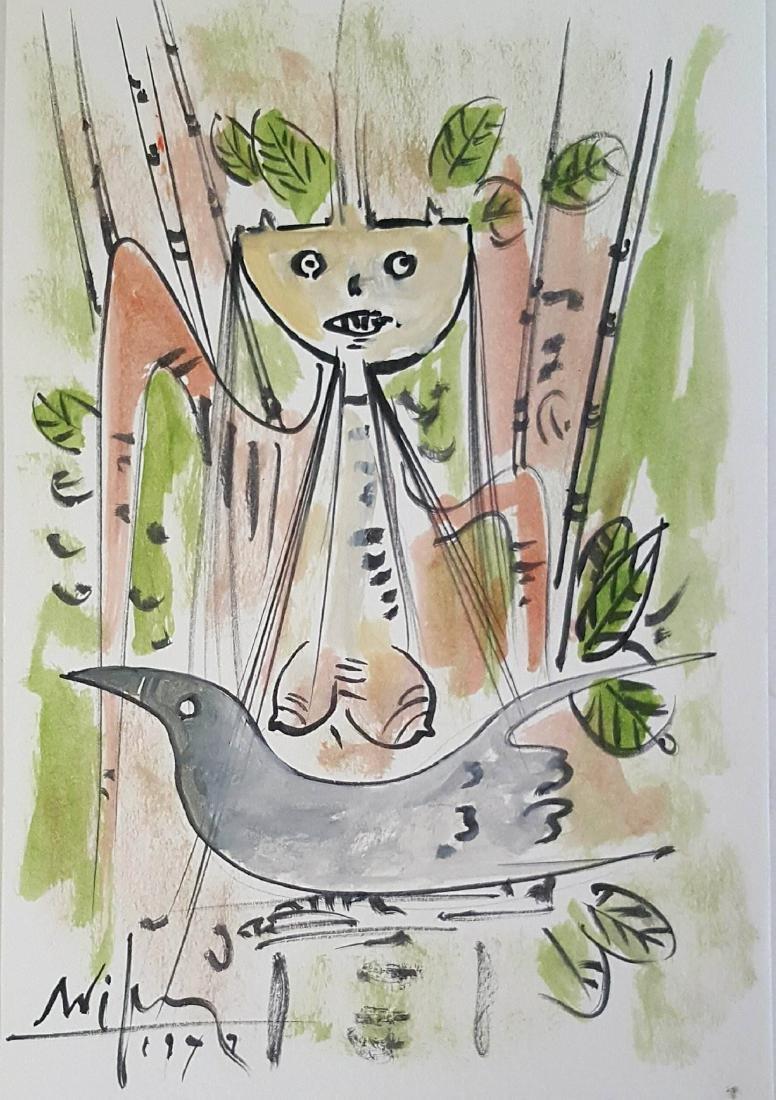 Wilfredo Lam (1902-1982)(attrib)- Celbrate Cuban