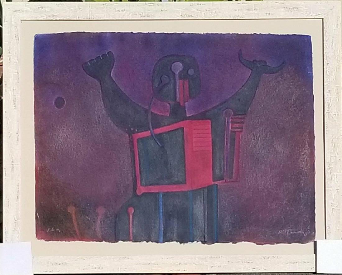 "Rufino Tamayo (1899-1991)-Serigraph, size:24""h x 31""w"