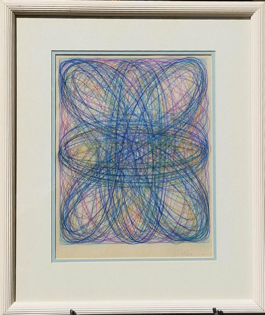 Dan Christensen (1942-2007) Pencil on Paper 1966 , he
