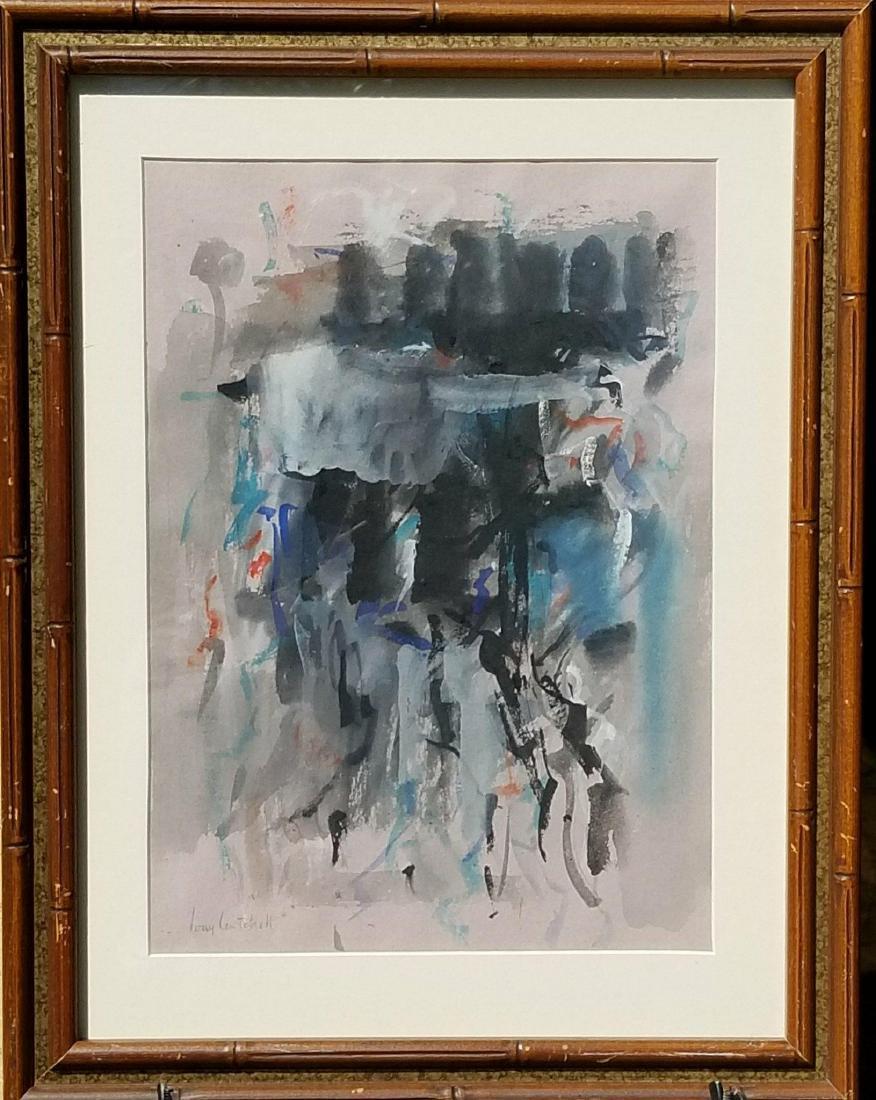 Joan Mitchell ( 1925-1992) Watercolor On Paper-  Joan
