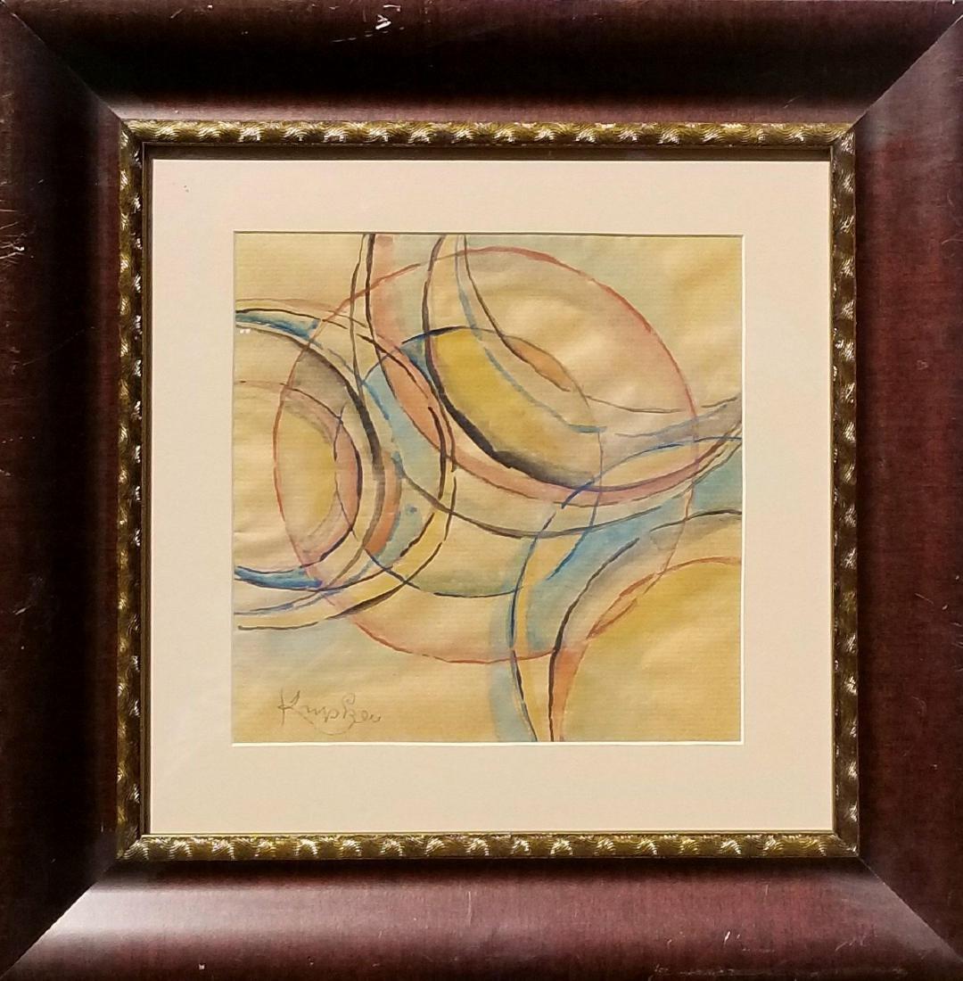 Frantisek Kupka (1871-1957) Watercolor on Paper-