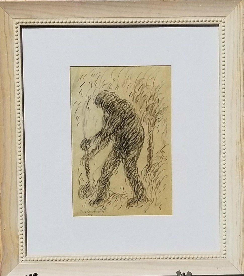 Marsden Hartley (1877-1943) Pencil on Paper 1908- He
