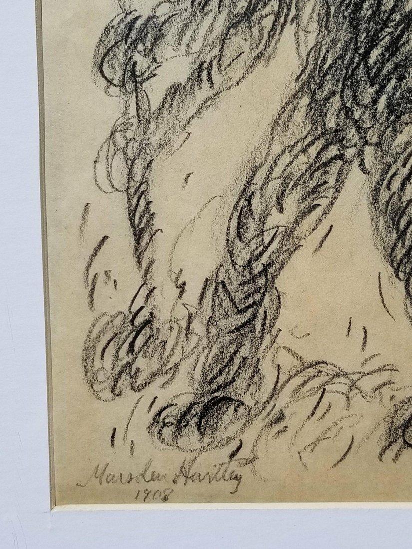 Marsden Hartley (1877-1943) Pencil on Paper 1908- He - 2