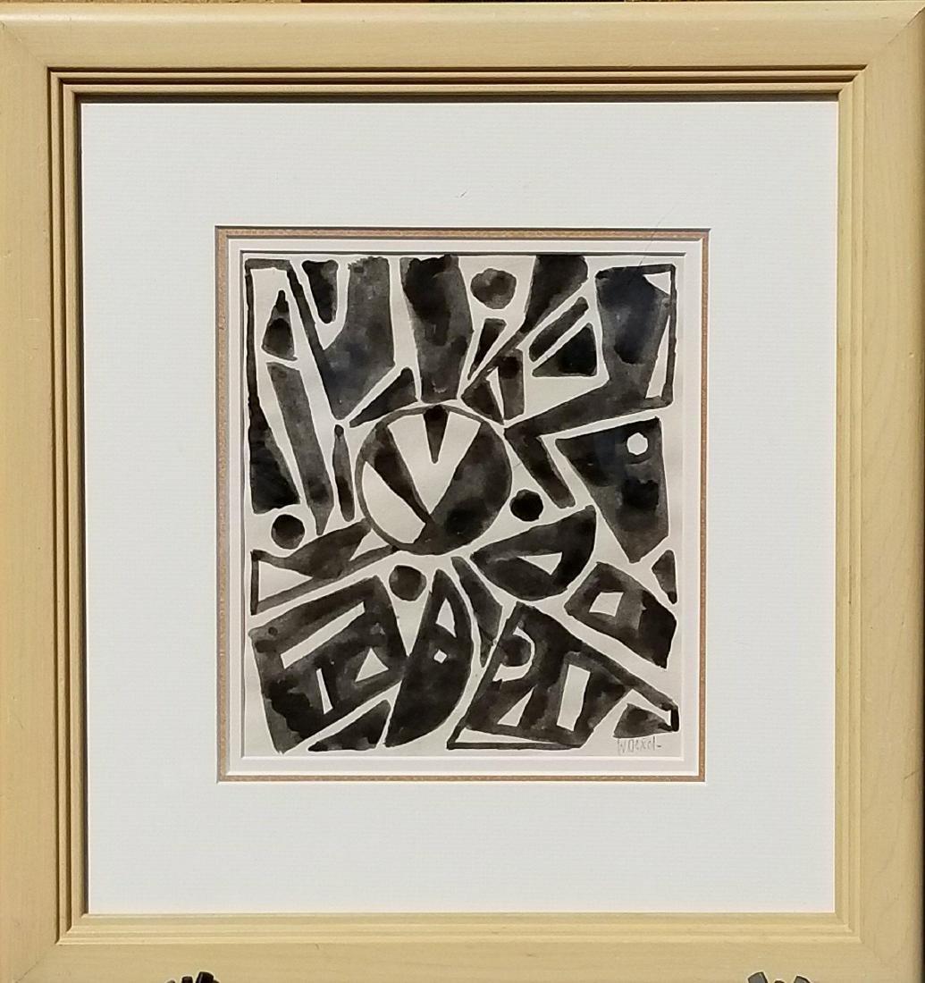 Walter Dexel ( 1890-1973) Ink on Paper- Walter Dexel