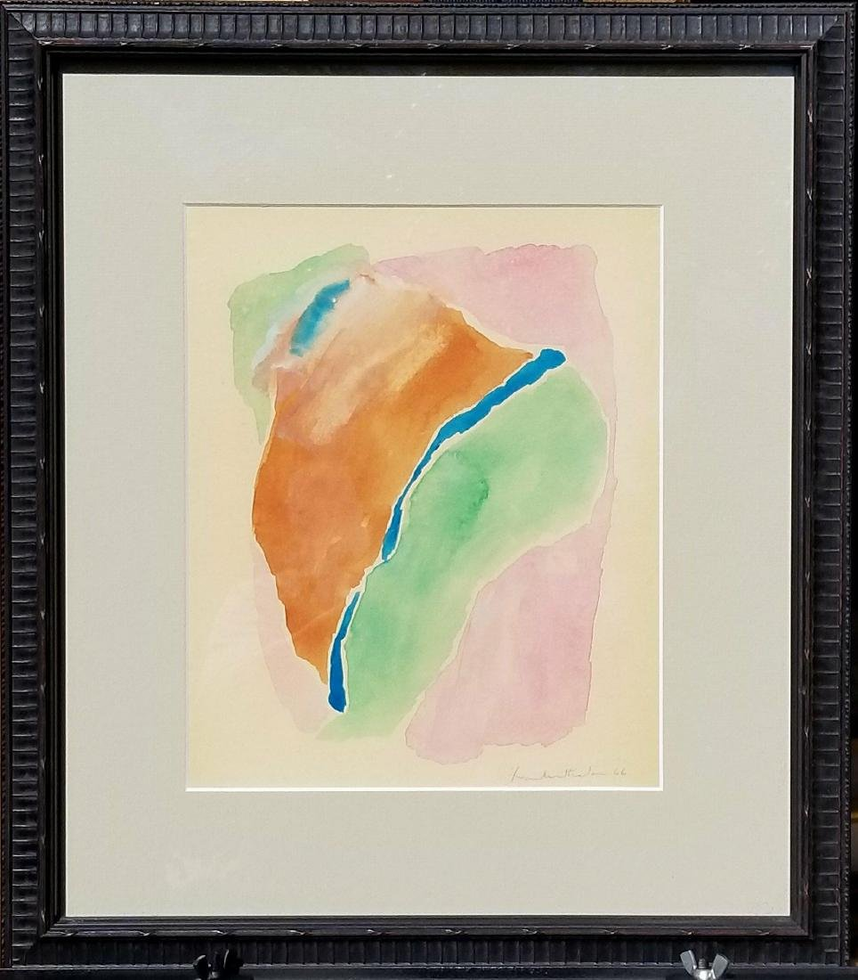 Helen Frankenthaler (1928-2011) Watercolor on Paper