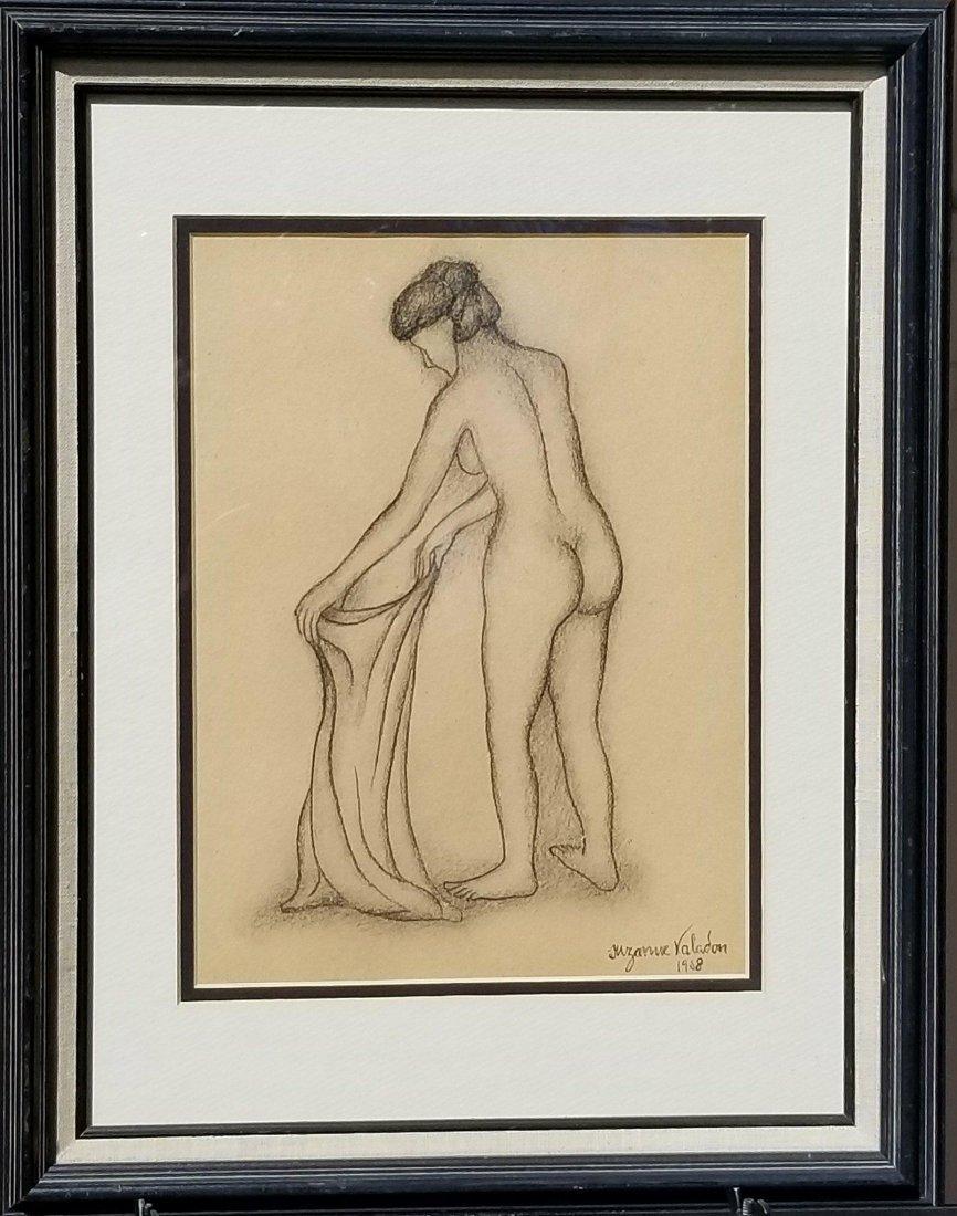 Suzanne Valadon (1865-1938) Pencil on Paper 1908-