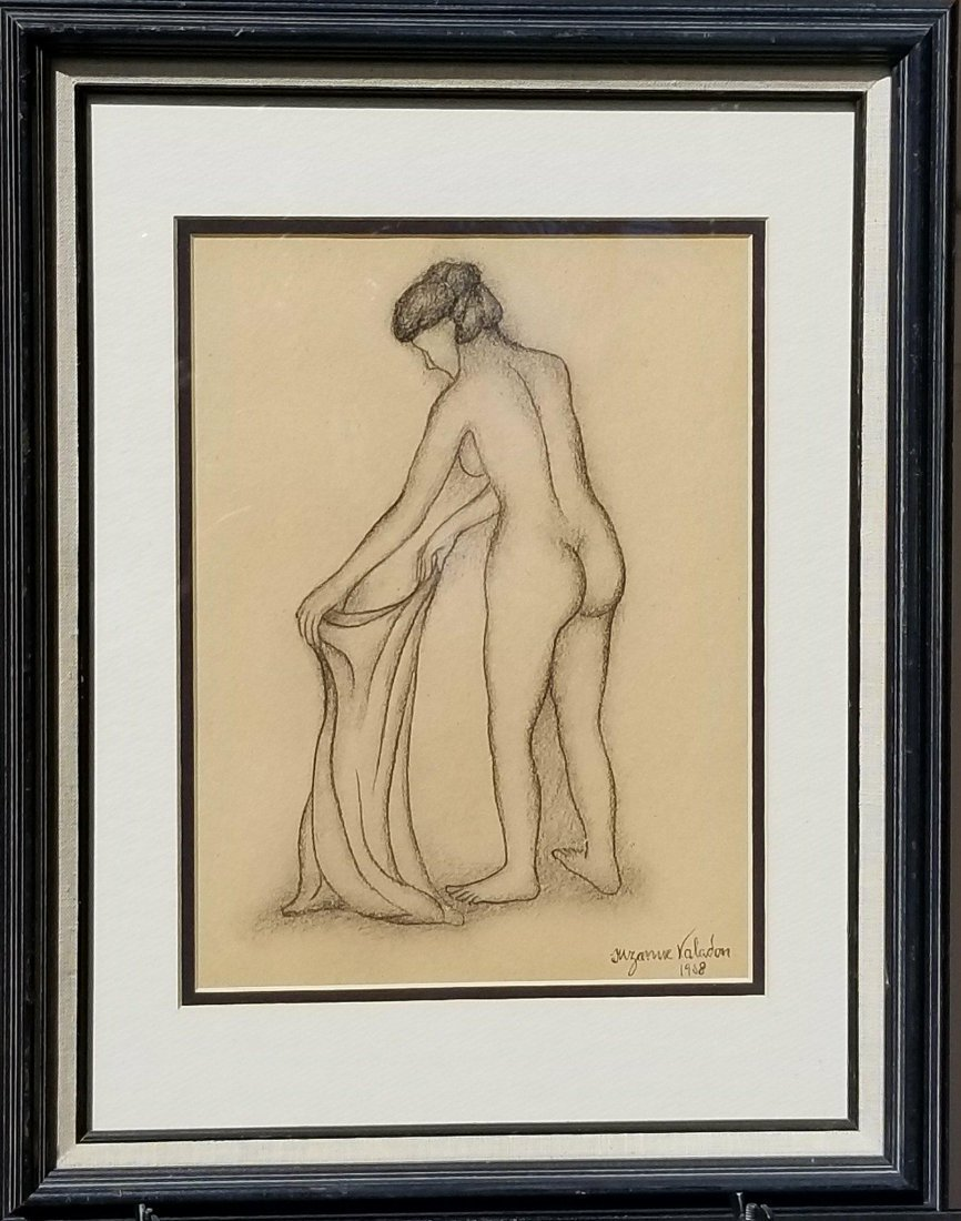 Suzanne Valadon (1865-1938) Pencil on Paper 1908-
