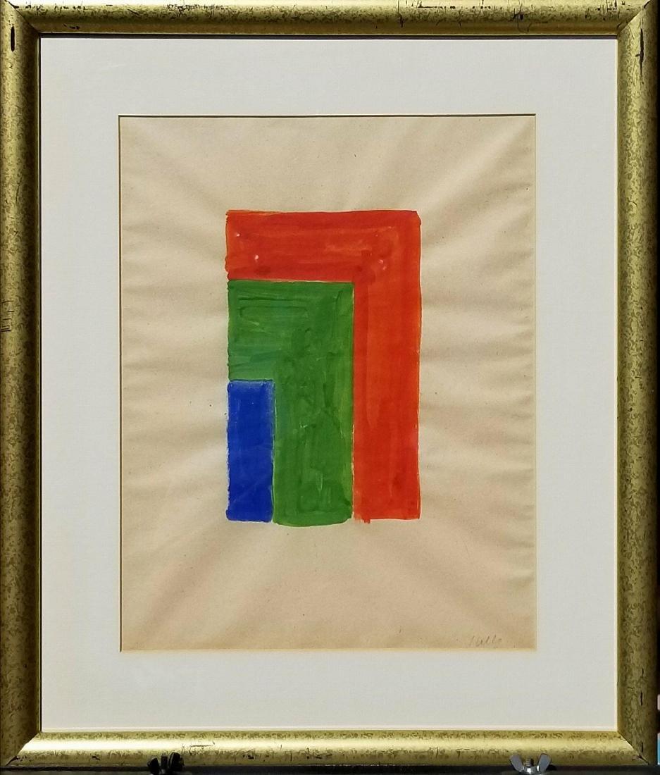 Ellsworth Kelly (1923-2015) Gouache on Paper- was