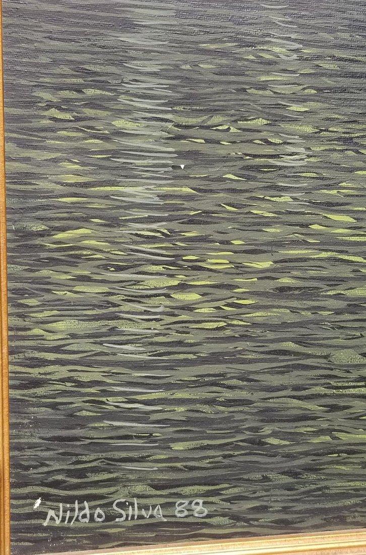 """Nildo Silva  88  oil on canvas size:32""""h x 25""""w shippin - 2"""