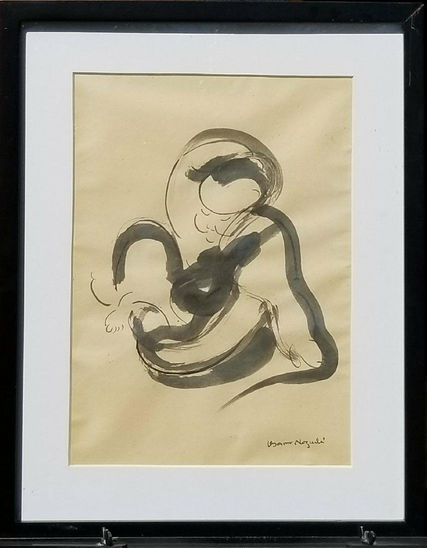 Isamu Noguchi (1904-1988) Ink on Paper- He was a