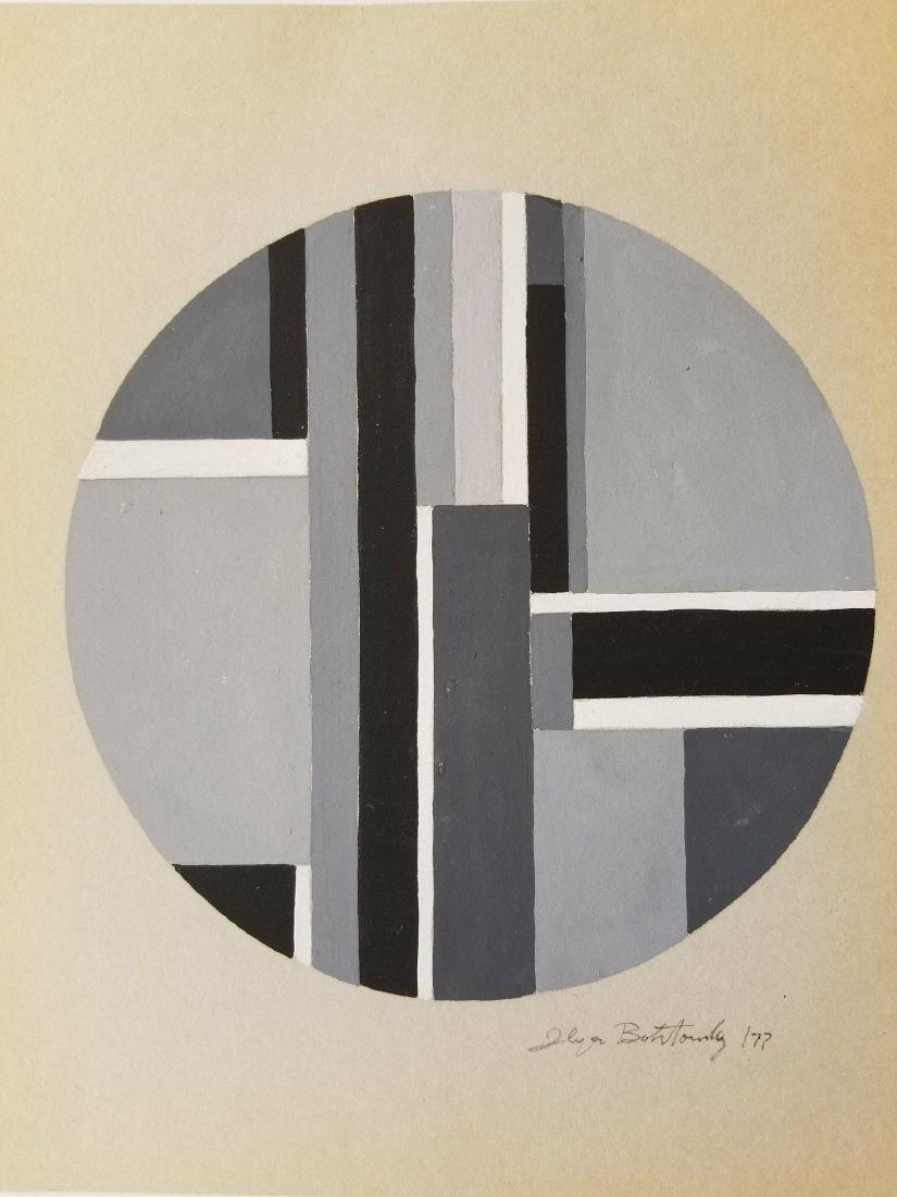 Ilya Bolotosky (1907-1981) Gouache on Paper 1977- She