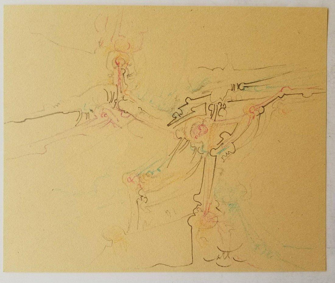 Roberto Matta (1911-2002) Pencil on Paper- Roberto