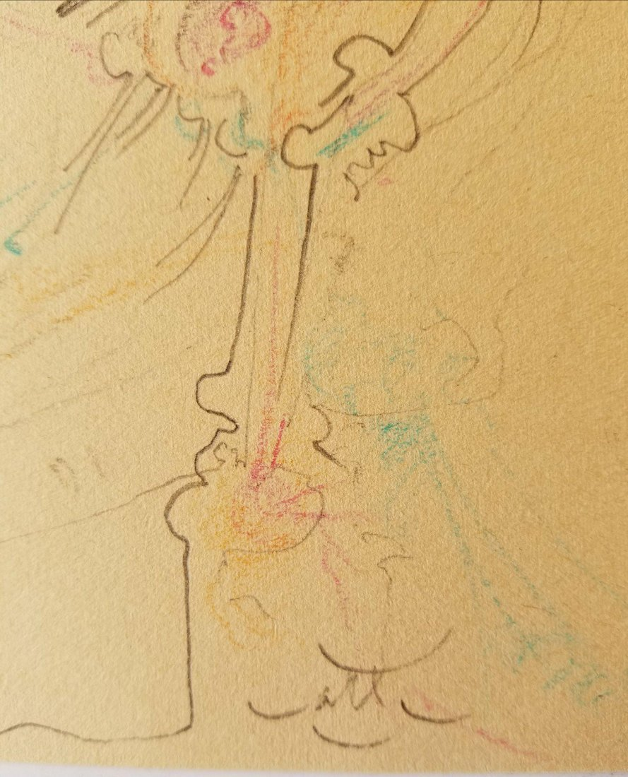 Roberto Matta (1911-2002) Pencil on Paper- Roberto - 2