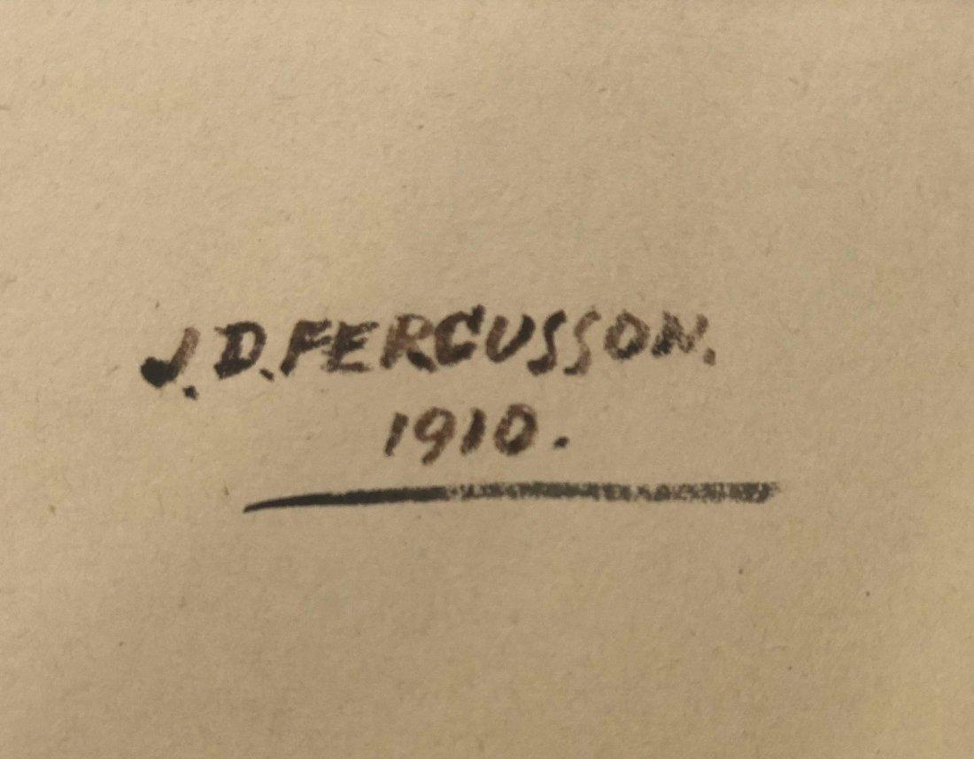 John Ducan Fergusson (1874-1961) water color on paper - 2