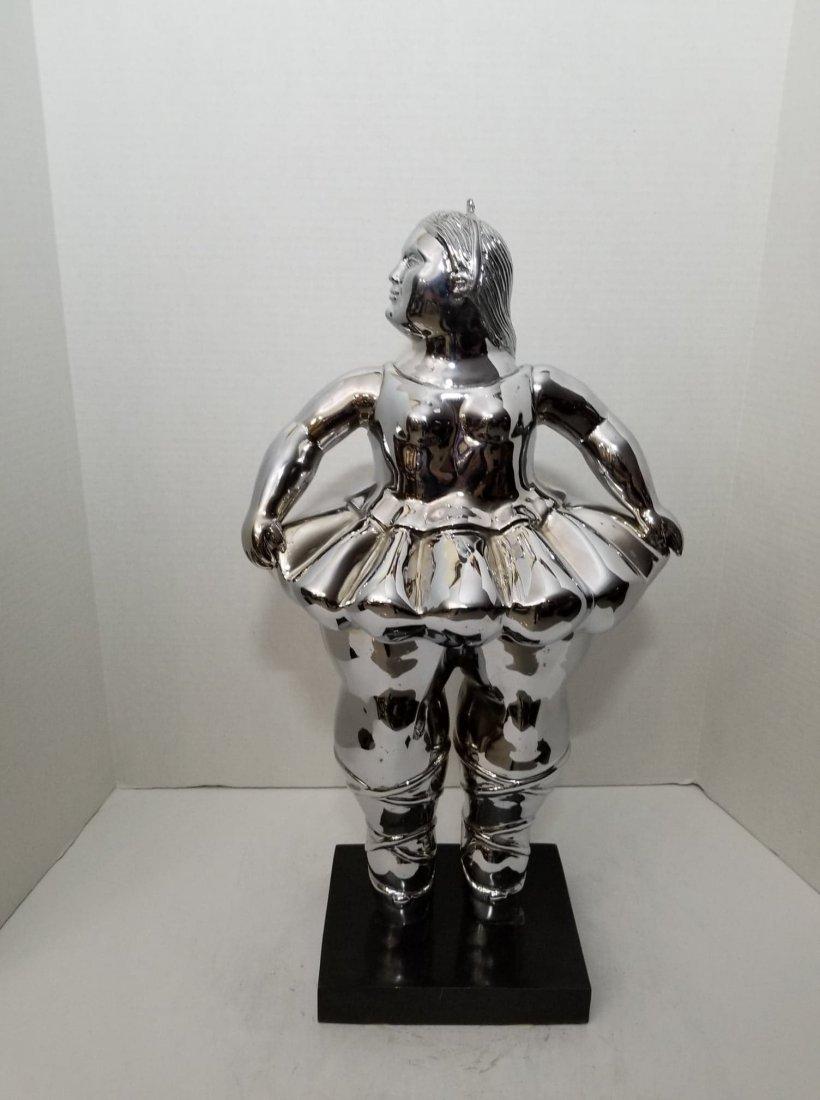 """Fernando Botero- Bronze-"""" Bailarina""""- ATTRIB. COA-Size:"""