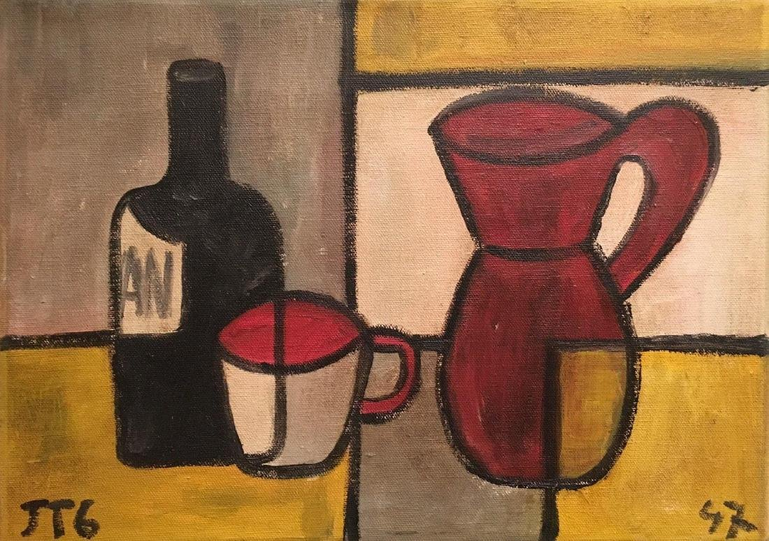 Joaquin Torres Garcia Was a Uruguayan /Spanin artist