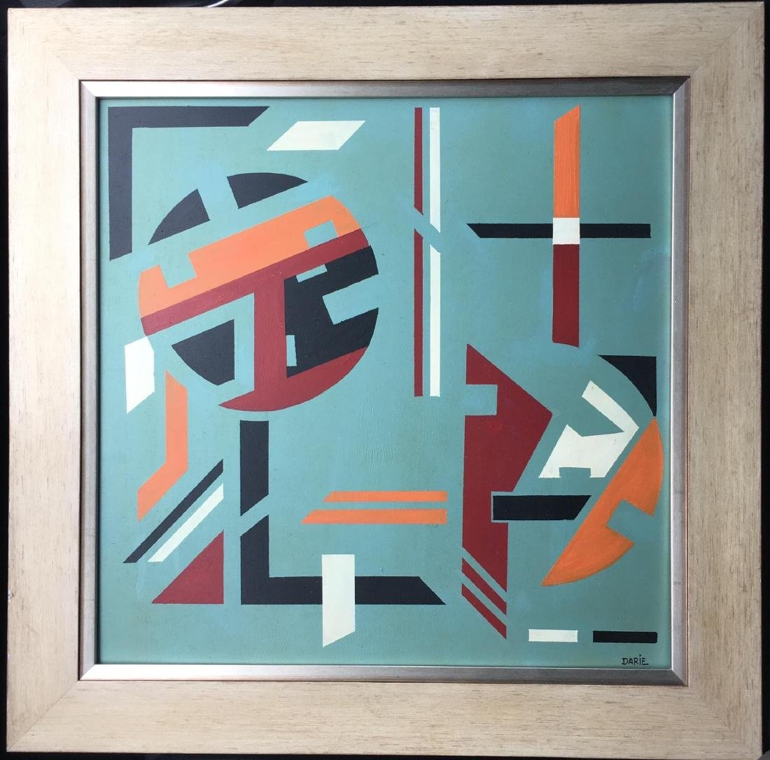 Sandu daire(1908-1991) Was a Romanian artist, trained