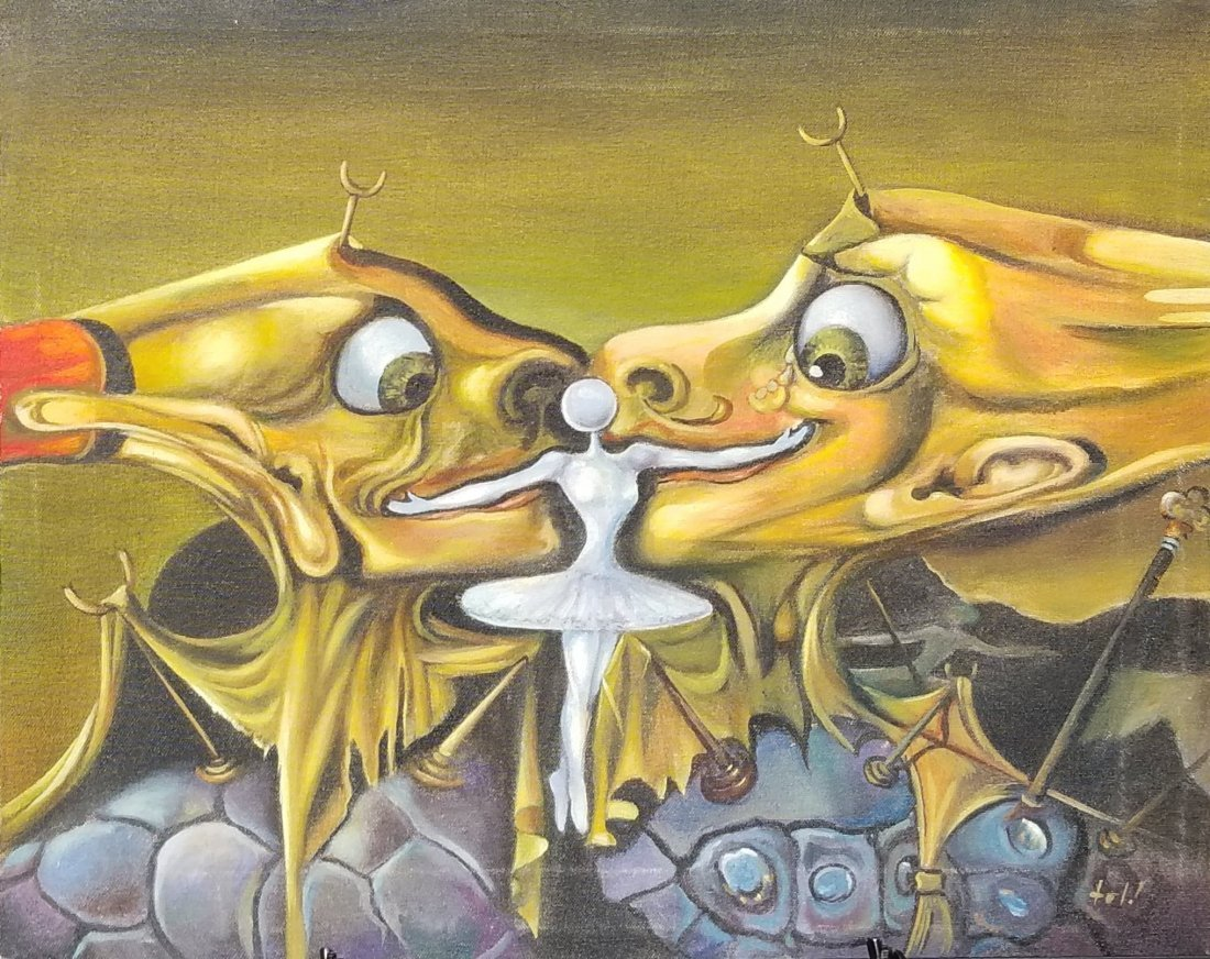 Salvador Dali (1904-1989)- - He was the most Celebrated