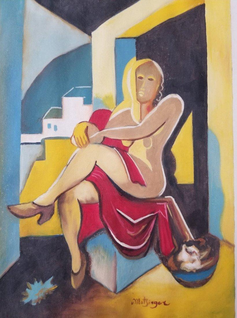 Jean  Metzinger(1883-1956) was a  Major 20th CenturyFre