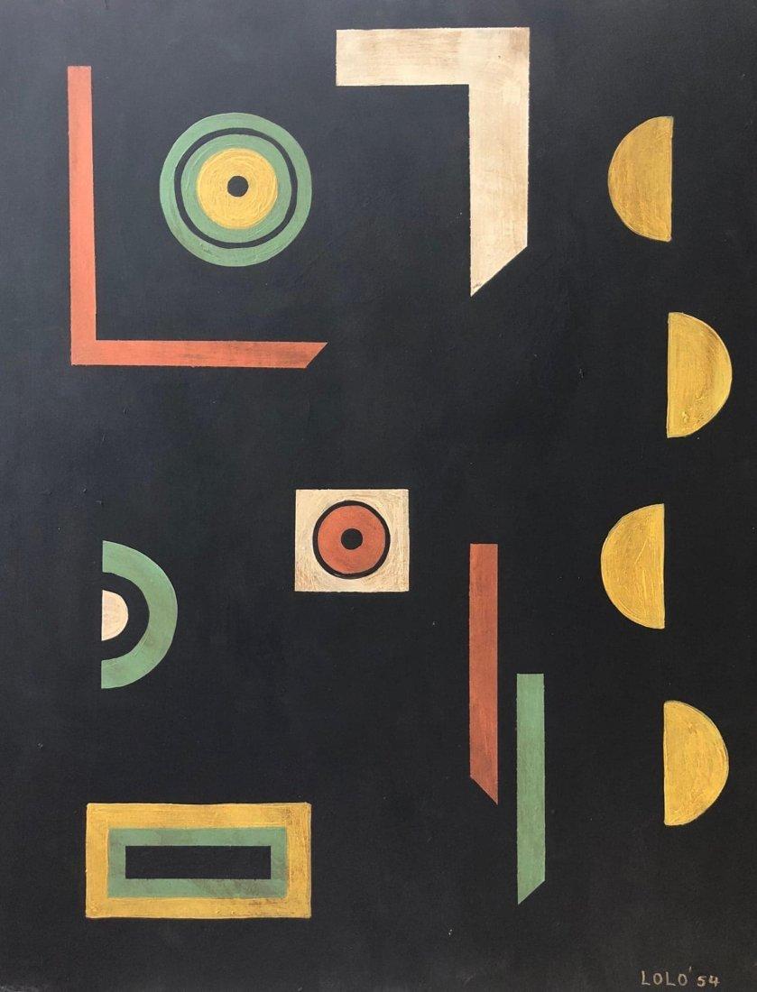 lolo Soldevilla(1901-1971) Was a Cuban visual artist wh