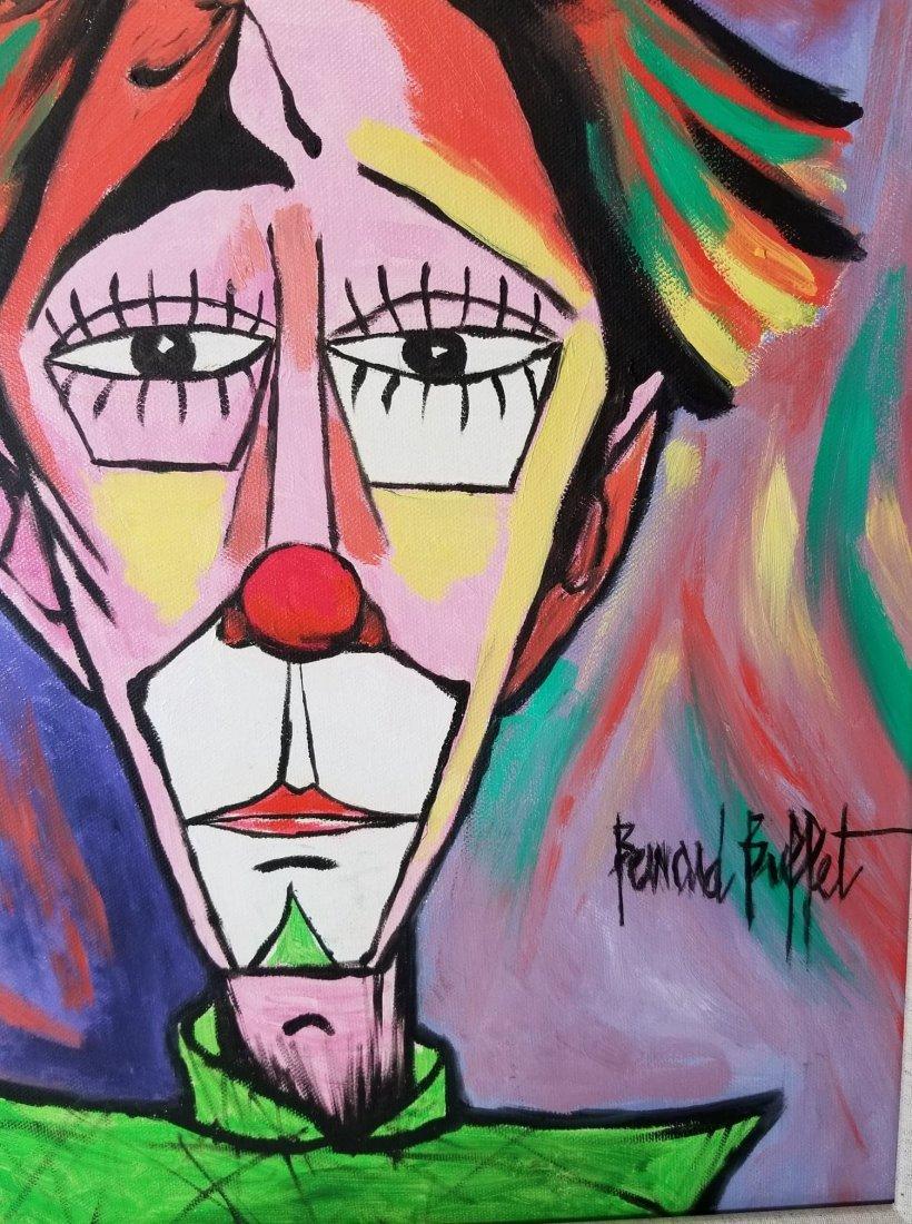 Bernard Buffet(1928-1999 was a French painter of - 2