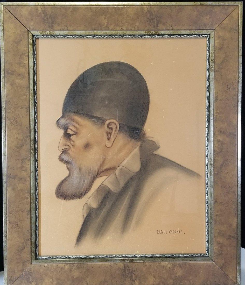 Rafael Coronel-attrib (coa) Colored Pencil on
