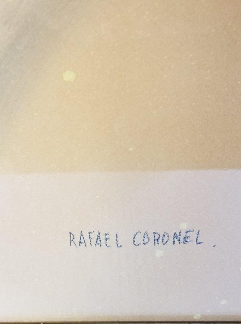 Rafael Coronel-attrib (coa) Colored Pencil on - 2