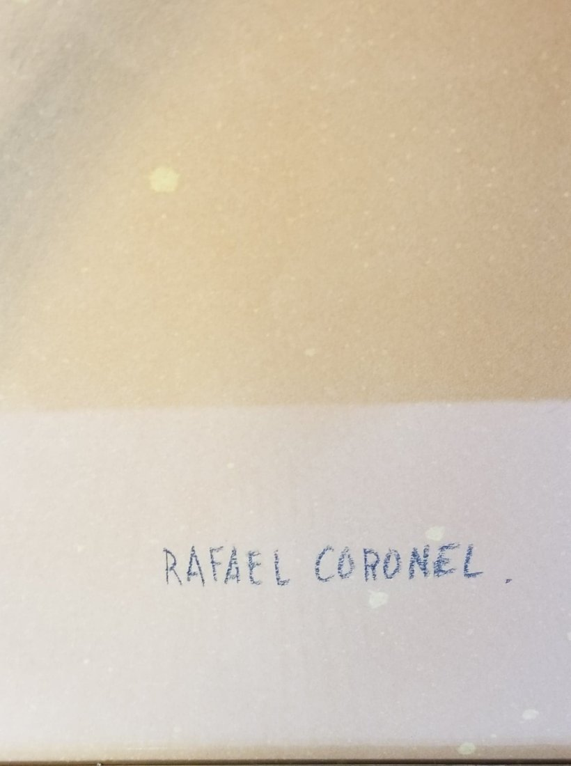 Rafael Coronel-attrib (coa) Colored Pencil on - 2