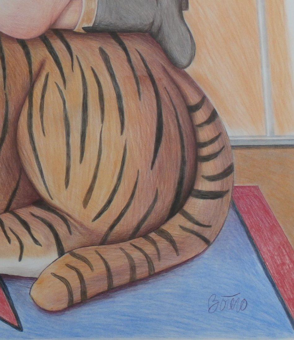 Fernando Botero Contemporary artist from Colombia  (att - 2