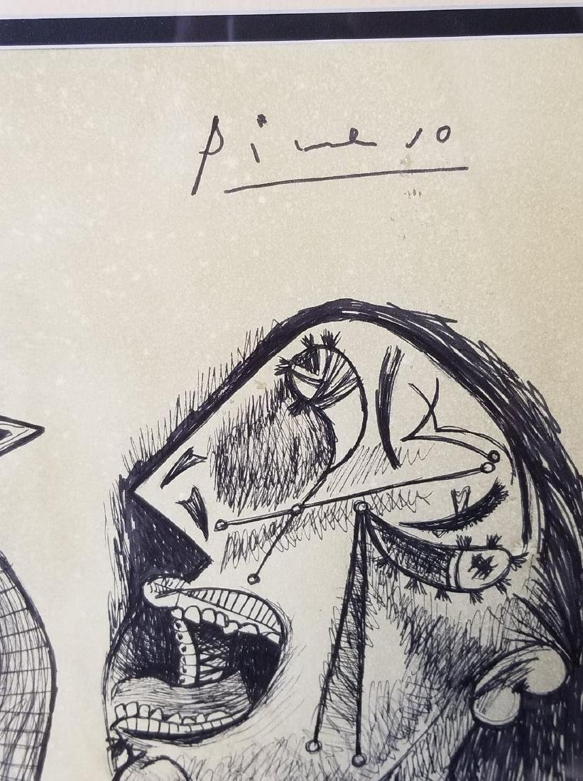 Pablo Picasso (1881-1973)Attributed-Ink on Paper- - 2