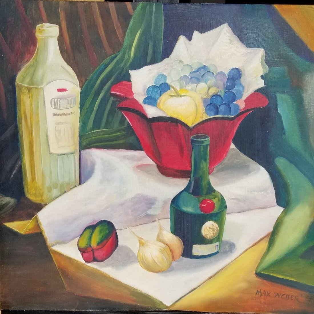 Max  Weber (1864-1920)Attributed- Was
