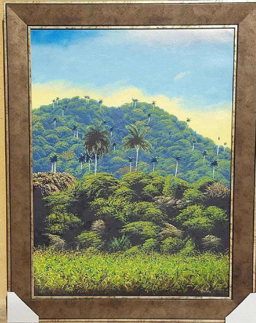 Marcos Olivera- a Contemporary Cuban Artist- Oil on