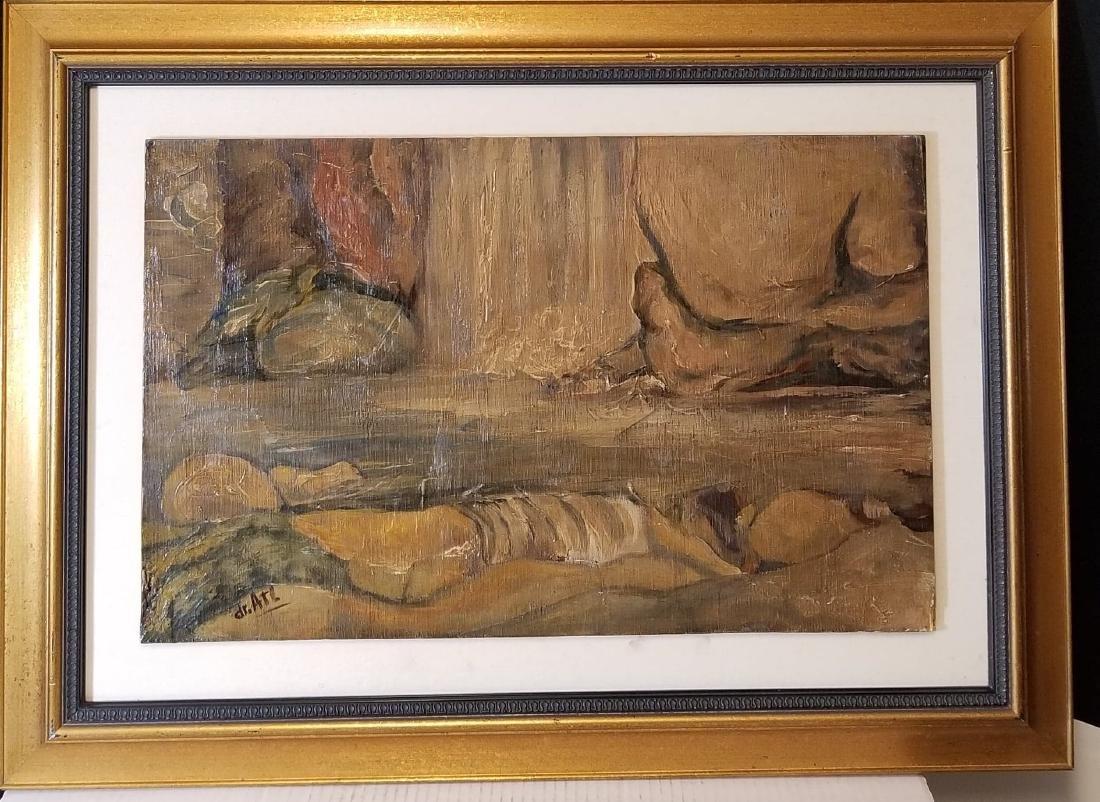 Gerardo Murillo DR ATL (attrib) (coa) -1875-1964, oil