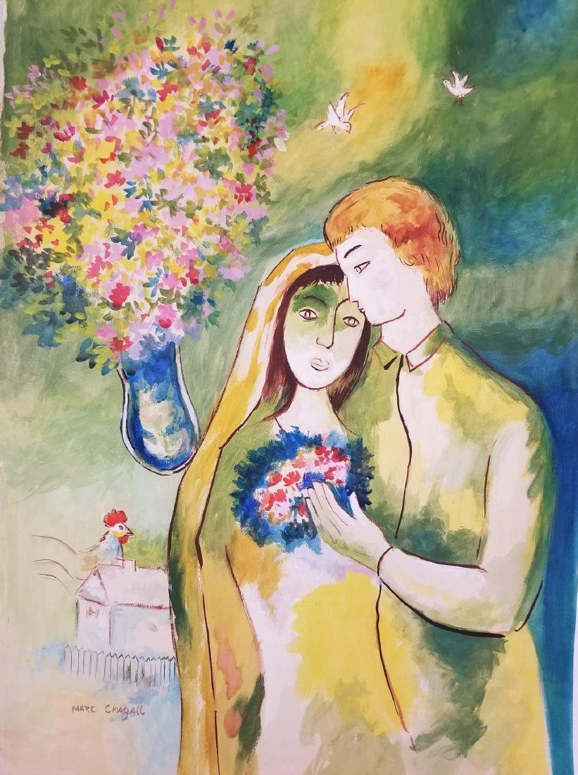 Marc Chagall-(1887-1985)Was a russian-French , Artist
