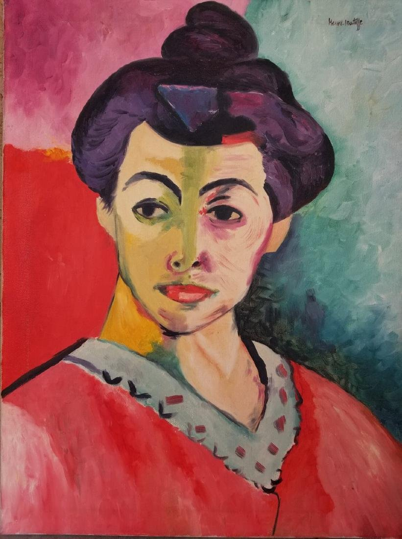 Henry Matisse(1869-1954) Was a French artist , known