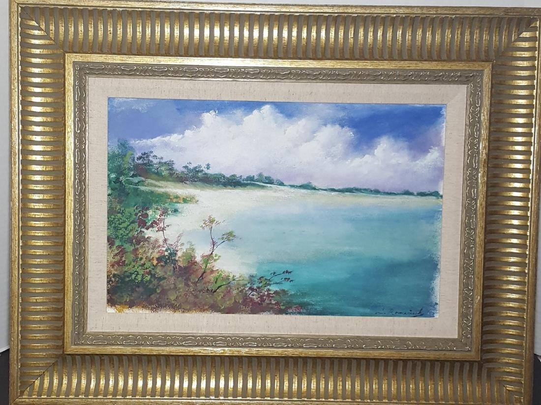 Leopoldo Romanach (1862-1951) Cuban Painter , he was a