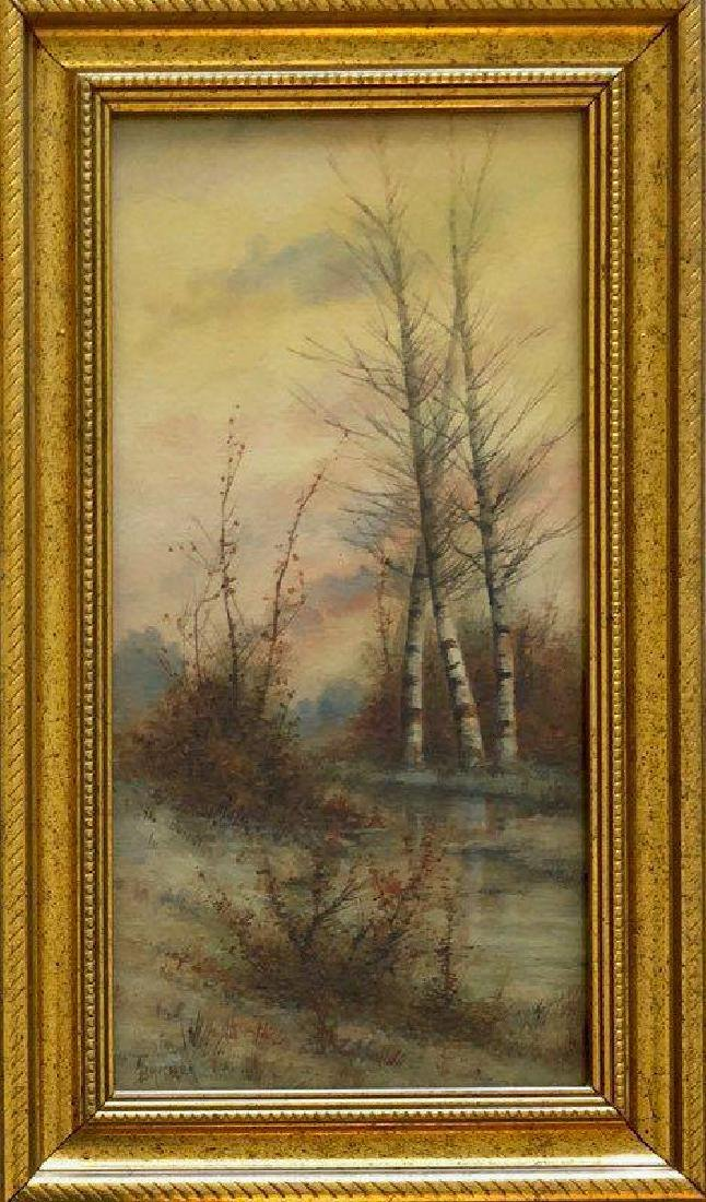 Alfred Thompson Bricher , Water color on paper size: