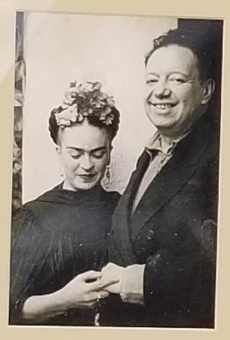 Frida Kahlo-Diego Rivera (1907-1954) (1886-1957)Photo
