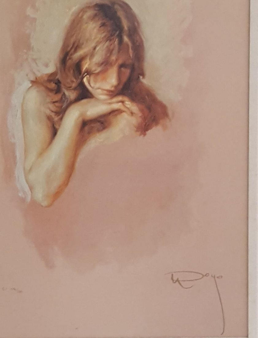 Jose Royo (1941)Spanish , his trademark is mainly young - 2