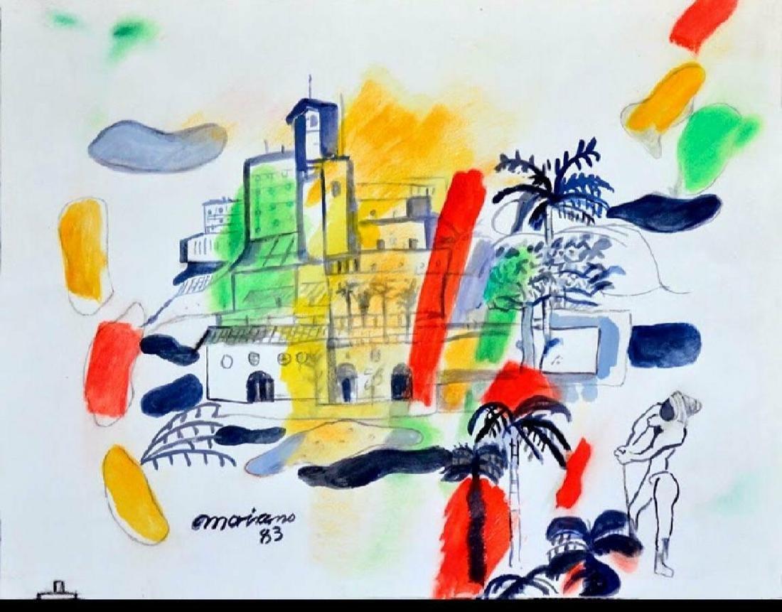 .Mariano Rodridriguez (1912-1990)Cuban artis
