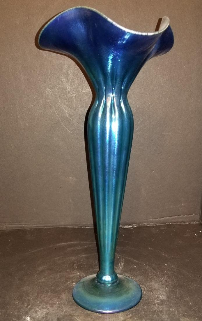 L.C. Tiffany favrile vase- Signed on the bottom-