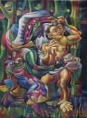 Mario Carreño (1913-1999) was a Cuban painter- Oil On